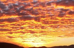 SUNSET VIEW FROM CEDAR INN